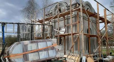 Строительство часовни Святителя Спиридона продолжается