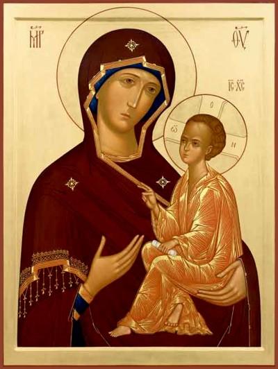 Иконы Божьей матери Тихвинской