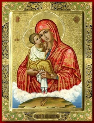 Икона Богородицы Почаевская