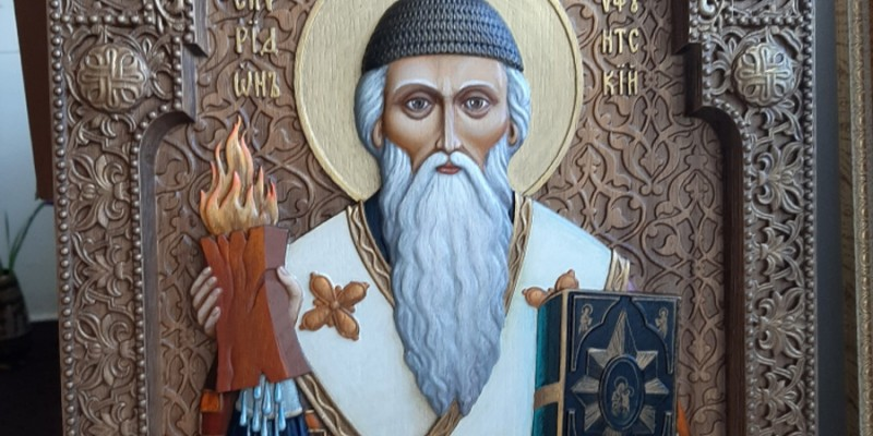 Икона святителя Спиридона епископа Тримифунтского