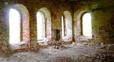 Храм до восстановления