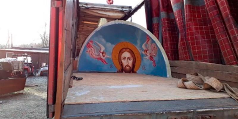 Строительство часовни святителя Спиридона епископа Тримифунтского