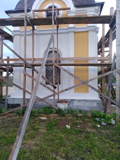 Строительство часовни
