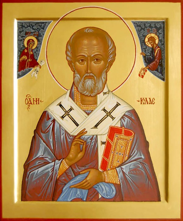 Святитель Николай, архиепископ Мирликийский, чудотворец